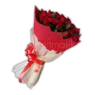 Buy Fresh 40 Roses Bunch Paper Packed for Special Occasion