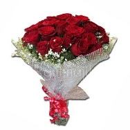 Send 30 Red Roses Hand Bunch Surprise and Deliver Smile